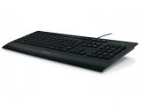 Clavier LOGITECH Keyboard K280E – USB 2.0, Noir