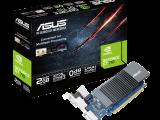 ASUS GeForce GT710-SL – 2 Go GDDR5, PCI-E, sans ventilateur, low profile