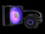 COOLER MASTER MasterLiquid ML120L V2 RGB – Watercooling, ventilateur 1 x 120 mm PWM, alu