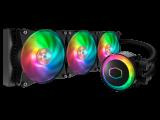 COOLER MASTER MasterLiquid ML360R RGB – Watercooling, ventilateur 3 x 120 mm PWM, alu