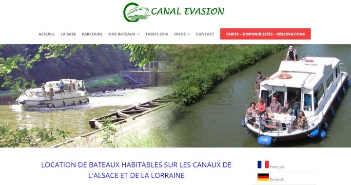 CANAL EVASION – LOCATION DE BATEAUX HABITABLES